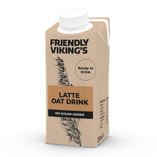 Friendly Viking's Latte kaurakahvijuoma 250 ml