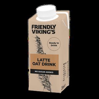 Friendly Viking's Latte kaurakahvijuoma 250 ml