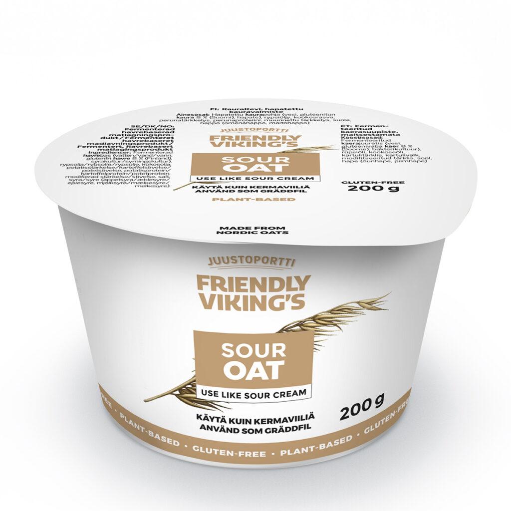 Juustoportti Friendly Viking's sour oat 200 g